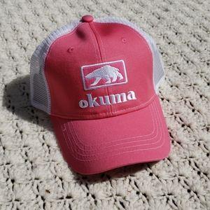 NEW Okuma Fishing Mesh Trucker Outdoors Snap Hat